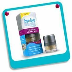 Bye Bye Blemish Acne Healing Minerals .07 oz jar by Bye Bye. $4.55. Soothes acne prone skinReduces redness and irritationControls surface oilTalc-free and non-comedogenicWon't clog pores. Translucent PowderSoothes acne prone skin Reduces redness and irritation Controls surface oil Convenient dispenser Talc-free and non-comedogenic Won't clog poresFinally... something that really works!Heal and conceal red, irritated or oily areas with this specially formulated powder. Natu...