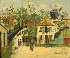 Utrillo (Montmartre) Maurice Utrillo, born Maurice Valadon (26 December 1883 – 5 November 1955), was a French painter who specialized in cityscapes.