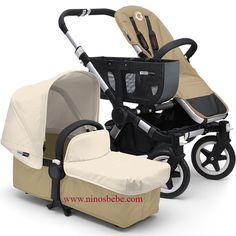 El BUGABOO Donkey sorprende por su innovador y funcional diseño, satisfaciendo dos necesidades basicas de cualquier padre moderno:  Mayor espacio de almacenaje, su cesta de compra lateral es expandible y la cesta inferior lo dotan de un inmenso espacio que permite a los padres cargar con todo lo que necesitan para estar en movimiento con su familia. Convertible a un cochecito duo completo. Cómpralo en: http://www.ninosbebe.com/tienda/BUGABOO/Bugaboo-Donkey/Bugaboo-Donkey-SandMarfil.html#cont