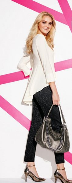 Guess what goes with everything? My new steel grey metallic bag by @markgirl #AvonRep www.youravon.com/katelynwest