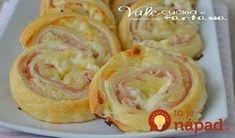 Toto ide u nás doma na dračku: Jemné zemiakové slimáky so šunkou a syrom!