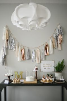 beautiful tassel garland from confetti systems