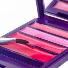 Lippenpflege selber machen - Lippenpflege Rezept für Rosa Lipgloss