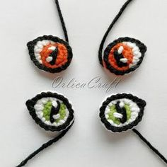 OrlicaCraft: Cat& eyes PL ♥ ️ Cat eyes ENG - OrlicaCraft: Cat& eyes PL ♥ ️ Cat eyes ENG You are in the right place about mermaid Nail - Chat Crochet, Crochet Eyes, Crochet Motif, Crochet Dolls, Crochet Baby, Free Crochet, Crochet Cat Toys, Crotchet Patterns, Amigurumi Patterns