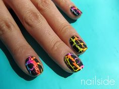 Nailside: Neon crackle party
