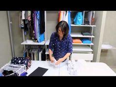 Como dobrar calcinhas e meias - Site Casa.com - YouTube