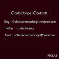 Something we liked from Instagram! Contáctanos en nuestra redes sociales(Contact) #socialnetwork #comments #blog #vlogg #blogg #email #twitter #instadesign #escrito #design #architecture #interiordesign #3Dprinter #artist #puertoricodiseña #worlddesign #instadecor #lifestyle #gmail #socialmedia by collectiveinteriordesign check us out: http://bit.ly/1KyLetq