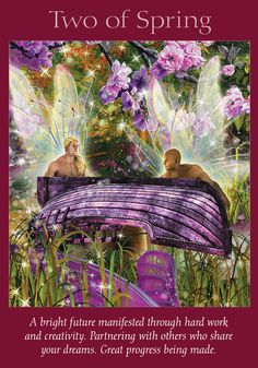 Oracle Card Two of Spring | Doreen Virtue | official Angel Therapy Web site