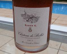 O Château de Bellet Baron G Rosé não lembra um rosé típico da Provence. Tem cor mais escura, menos frescor, e aroma mais adocicado.