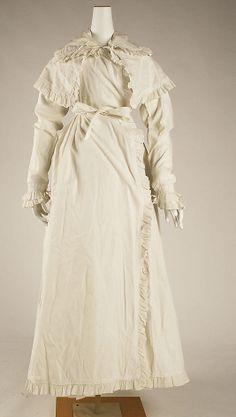 Metropolitan Museum of Art, item 1972.78.3, c1815, british, cotton robe