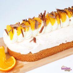 Sinaasappel bavarois slof Dutch Recipes, Baking Recipes, Sweet Recipes, Baking Utensils, Mousse, Yummy Food, Tasty, High Tea, Cupcake Cookies