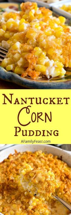 Nantucket Corn Puddi