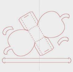 Eu Amo Artesanato: Moldes de caixinhas, lembrancinhas para festas