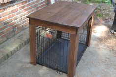 Dog Crate Cover, Pet Crate Cover, Dog Crate Furniture, Wood Dog Crate Cover, Dog Kennel Cover, Dog Crate End Table