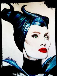 Maleficent - Disney Inspired
