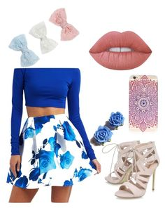 """Untitled #41"" by bethany221b on Polyvore featuring Charlotte Russe, Carvela, Tarina Tarantino, Lime Crime and Decree"
