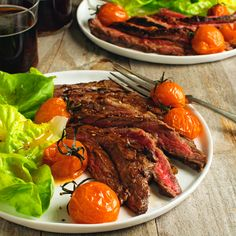 Skirt steak is a well-marbled and juicy cut of meat, which lends itself to simple preparation. This recipe relies on just four ingredients to perfectly season the steak, so quality...