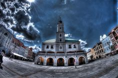 #gliwice Market Square and Town Hall