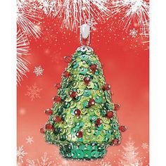 sequin ornament kits   ... Kit Makes 3 Holiday Tree Sequin Bead Christmas Ornaments Craft NEW
