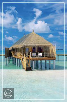 A water villa made for two – at Constance Moofushi, Maldives
