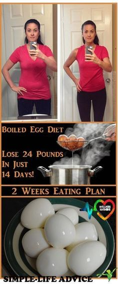 Boiled egg diet. Here's how to lose 24 pounds in just 14 days! #boiledeggdiet #eggs