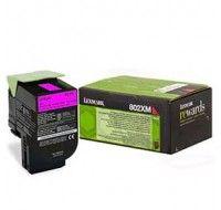 Lexmark Magenta Return Programme Toner Cartridge Extra High Yield 80C2XM0 - Printer Toner