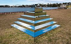 I Created A Mirrored Ziggurat To Connect The Earth And Sky In Sydney