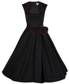 Lindy Bop Women's 'Grace' Classy Vintage 1950's Rockabilly Bow Dress (XS, Black) Lindy Bop,http://www.amazon.com/dp/B00I3YNQSI/ref=cm_sw_r_pi_dp_22HBtb0W9SYHD2X4