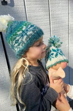 d051b724608 27 Best kids hand knit fair isle hats images