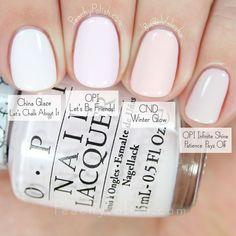 Comparison hello kitty collection peachy polish white nail in 20 Opi Gel Nails, Opi Nail Polish Colors, Opi Gel Polish, Manicure Y Pedicure, Opi Colors, Spring Nail Colors, Pedicures, Wedding Nail Colors, Wedding Nail Polish