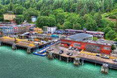 Cruise Ship Pier at Juneau, Alaska