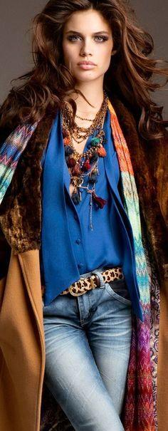Sara Sampaio | Denim Chic... - Street Fashion