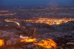 Gün biterken Kapadokya