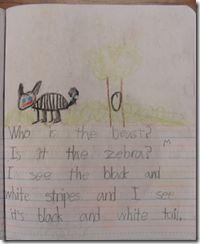 Teaching First Graders to Write Sentences