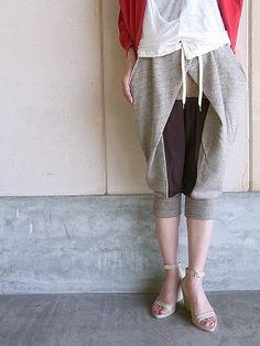 Pants- but NOT knit!