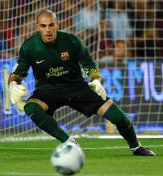 Victor Valdes. #Soccer #Futball #Football #Barcelona