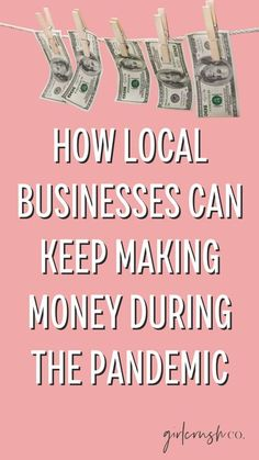 How Local Businesses Can Make Money During the Pandemic blog post by Girlcrush Collective. eGift Cards are the best way for small businesses and local businesses to make money while their doors are closed. Here's how to set up your egift cards!