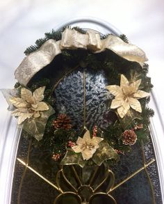 Cyber Monday deal - take 20% off this Christmas Wreath with coupon code:  CyberMonday