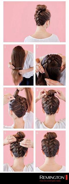 5 idées de coiffures simples et stylées pour aller au travail - Les Éclaireuses