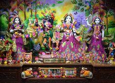 ISKCON Nasik Deity Darshan 27 August 2016