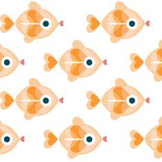 Goldfish - Diseños de jessica | ilatela.com - imprime tus sueños en tela