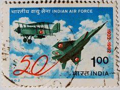 Postage stamp - India