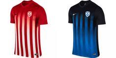 Camisas do AS Nancy-Lorraine 2016-2017 Nike