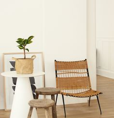 ©Selency Tabouret ethnique, scoubidou chair, console, ethnic home