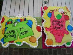 would be cute cakes for a pool party
