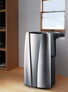 Portable air conditioners are a favorite of the people that need to cool a specific area in the house. Since older homes as well as apartment buildings do not have central cooling, these air conditioners will be a perfect option. Camping Air Conditioner, Window Air Conditioner, Home Goods Decor, Keep Cool, New Gadgets, Air Purifier, Cool Rooms, Air Conditioners, Modern