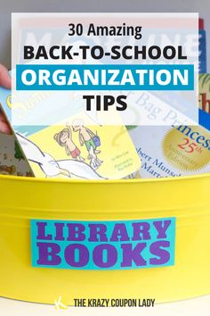 Need help with back-to-school organization to keep your kids organized and maintain your sanity? The Krazy Coupon Lady is here to save the day! These school & homework organization tips & hacks will help you stress less and take the panic out of school morning routines. Keep school papers organized, create an after school meltdown spot, use a family calendar system, and more start of school organization hacks and kids' DIY projects. Free back-to-school daily routine checklist printable included! School Paper Organization, Homework Organization, Organization Ideas, Screen Time For Kids, Math Homework Help, School Items, School Stuff, Family Calendar, Homework Station