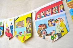 Lots of creative ways to repurpose old children's books.  www.petiteliterary.com