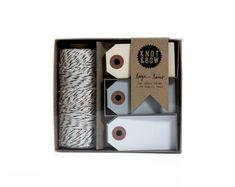Tag + Twine Box / Copper Neutral