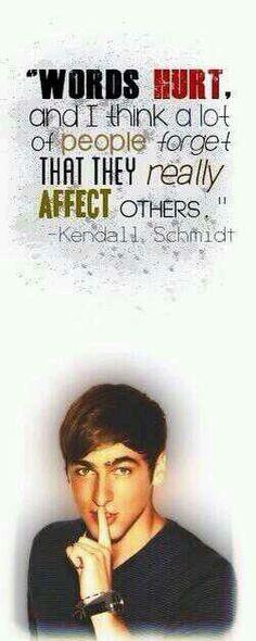 BTR Kendall Schmidt Quote
